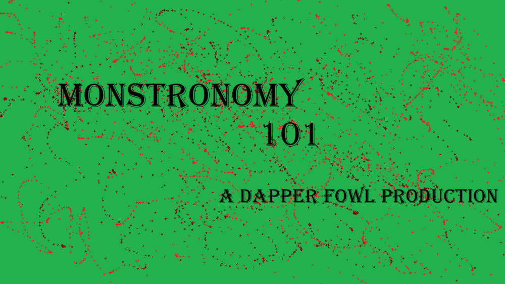 Monstronomy 101 title card