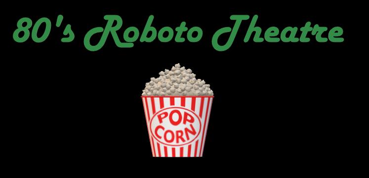 80's roboto theatre logo
